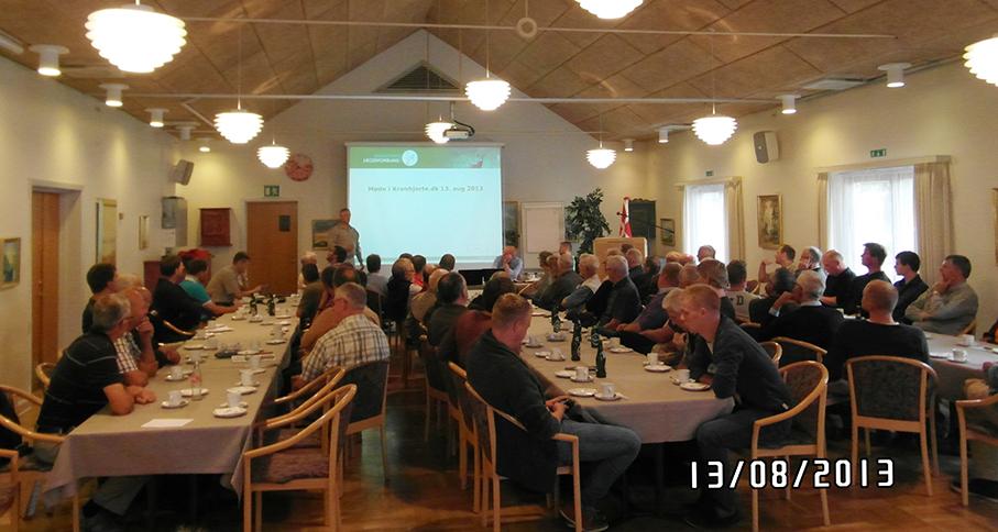 Indlæg ved Lars Jensen, Den Nationale Hjortevildtgruppe